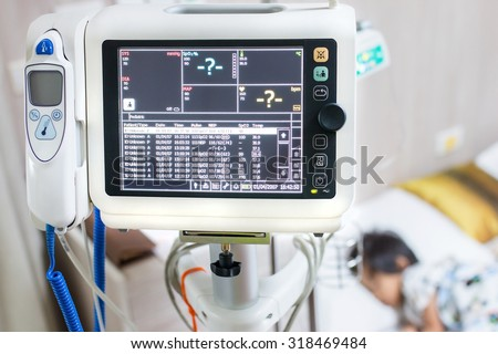 Health care portable monitoring in hospital