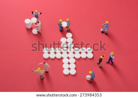 Health Care System Growth Working Men Stock Photo Royalty Free