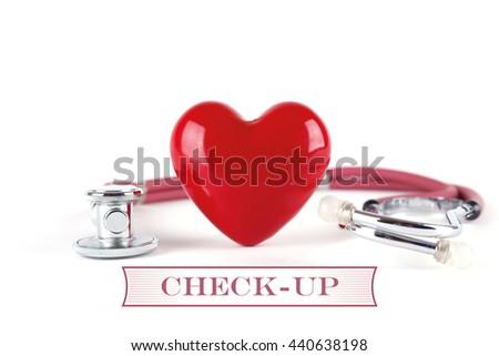 HEALTH CONCEPT CHECK-UP - stock photo