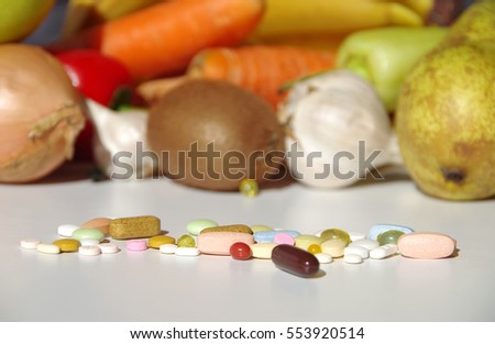Health have just one, so we'll have vegetables and fruit or medicines?