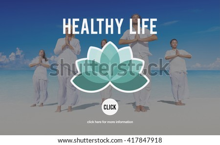 Health Healthy Life Wellness Life Nutrition Concept - stock photo