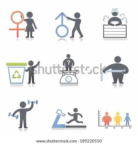 Health icon - stock photo
