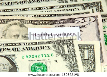 Health insurance expense.