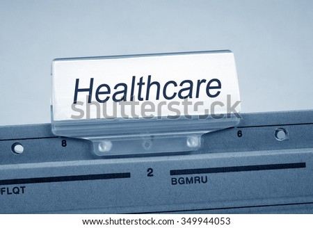 Healthcare Folder Register Index
