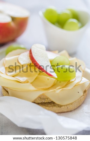 healthy breakfast - stock photo