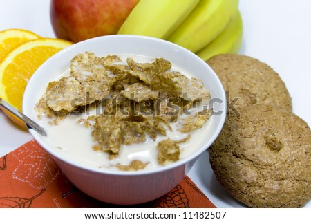 healthy breakfast close-up