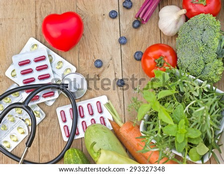 Healthy diet - healthy nutrition  - stock photo