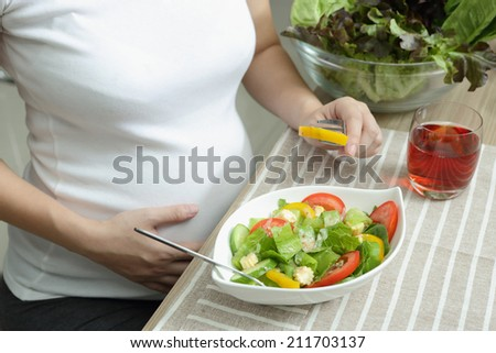 Healthy diet in pregnancy