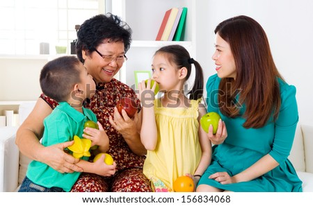 Healthy eating. - stock photo
