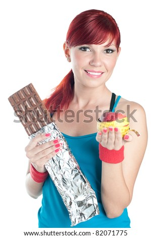 Healthy eating concept - stock photo