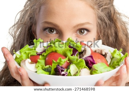 Healthy Eating, Eating, Food. - stock photo