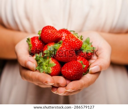 Healthy Eating, Fruit, Strawberry.