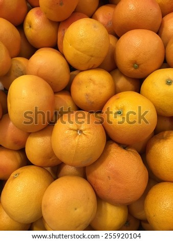 Healthy food, background. Grapefruits - stock photo