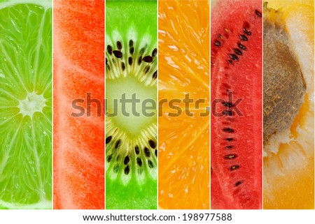 Healthy food backgrounds  - stock photo