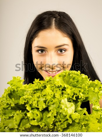 Healthy food concept, diet, vegetarian food. Dieting concept. Weight loss. Vegan food - stock photo