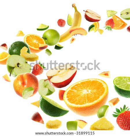Healthy fruits - stock photo