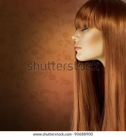 Healthy Hair - stock photo