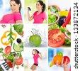 Healthy life style - stock photo