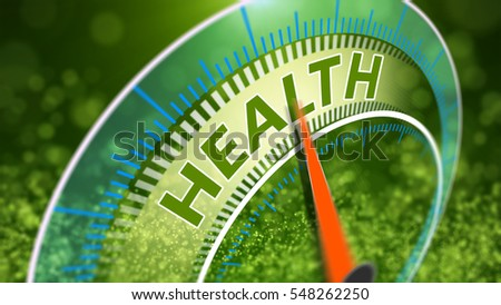 Healthy lifestyle abstract 3D Illustration. World health day concept.