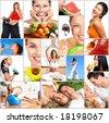 фото: Здоровый образ жизни.  Люди, диета, здоровое питание, фрукты, фитнес