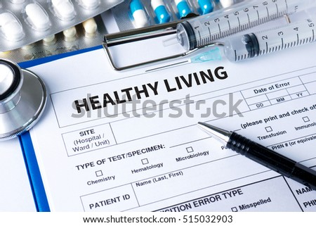 HEALTHY LIVING invest in your health strategy plan