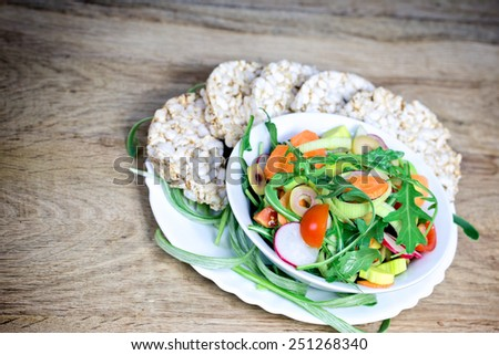 Healthy meal - vegan food - stock photo