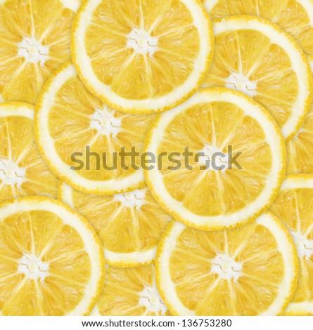 Healthy Orange background - stock photo
