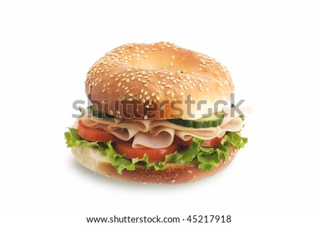 Healthy sandwich - stock photo