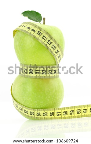 Healthy slimming diet - stock photo