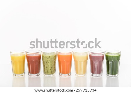 Healthy smoothie - stock photo