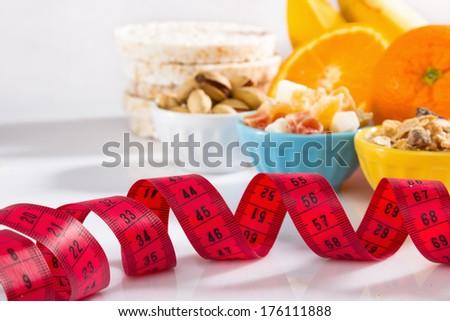Healthy snack - stock photo