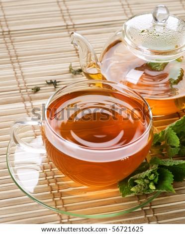 Healthy Tea - stock photo