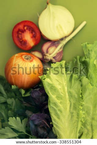 Healthy vegetables - stock photo