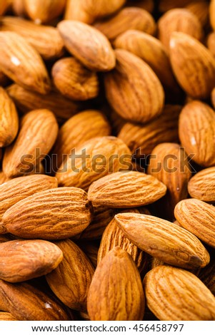 heap of almonds