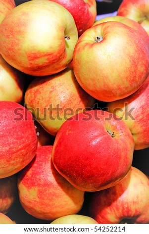 heap of apples