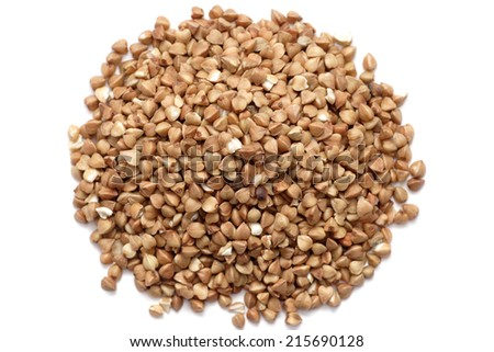 Heap of buckwheat.