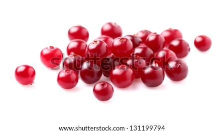 Heap of cranberry - stock photo