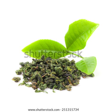 how to make green tea from fresh leaves