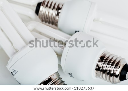heap of energy efficient light bulbs