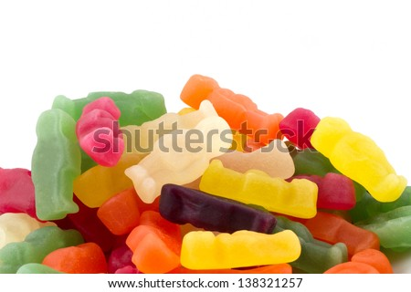 Heap of Jelly Babies/People