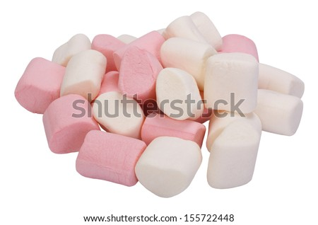 Heap of marshmallows