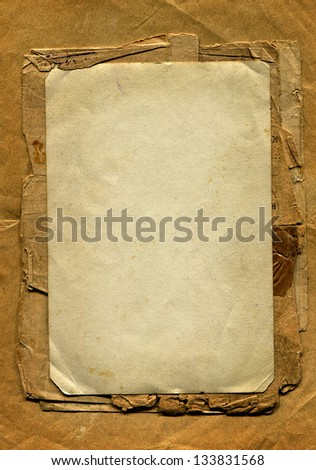 Heap of Old and Vintage Papers - stock photo