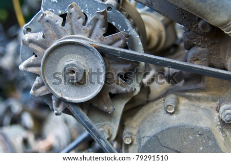 Heap Old Car Parts Thai Chinatown Stock Photo 79291513 Shutterstock
