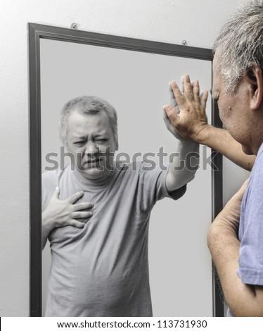 Heart Attack - stock photo