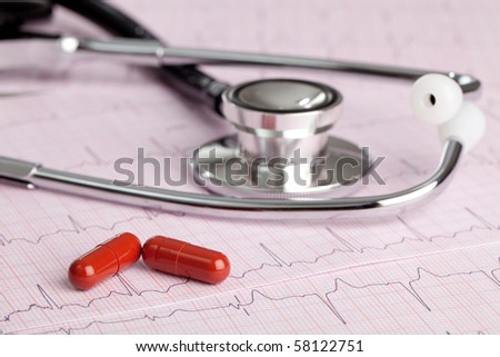 Heart Beat - stock photo