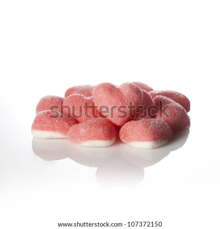 Heart candy - stock photo