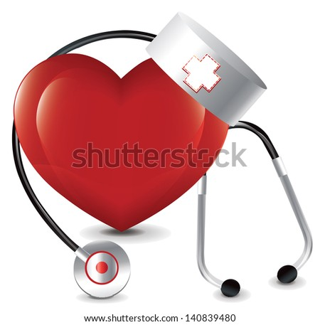 Heart Doctor bitmap copy - stock photo