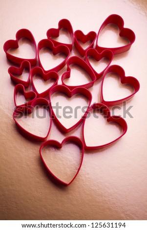 Heart for love - stock photo