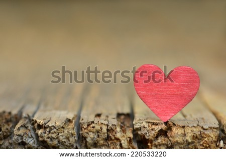 Heart for love, valentines day. - stock photo