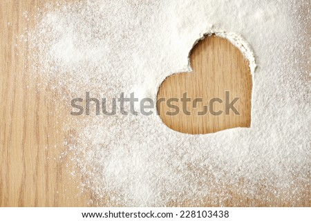 heart free space  - stock photo